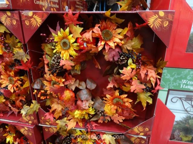 Harvest Wreath Costco 3