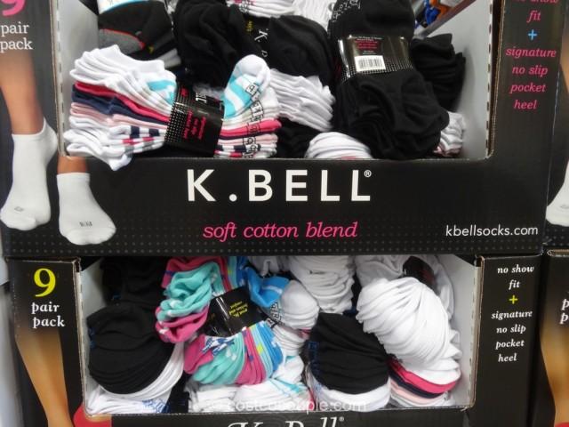 K Bell Ladies No Show Socks Costco 2