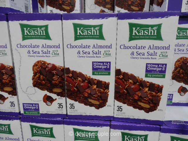 Kashi Chocolate Almond and Sea Salt Bars Costco 2