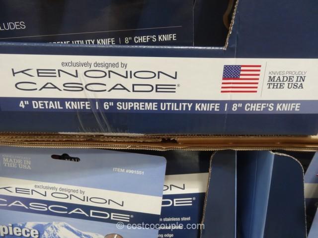 Ken Onion 3-Piece Cascade Cutlery Set Costco 2