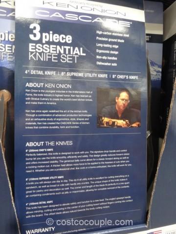 Ken Onion 3-Piece Cascade Cutlery Set Costco 4