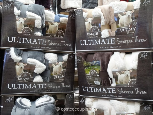 Life Comfort Ultimate Sherpa Throw