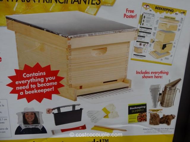 Miller MFG Beginner Hive Kit Costco 5