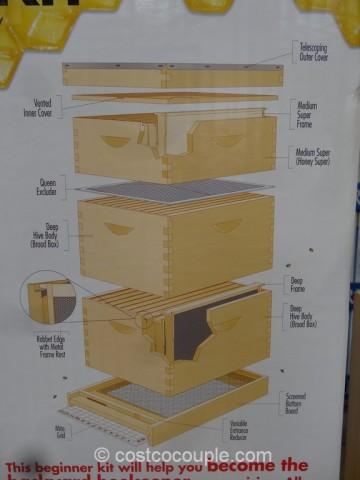 Miller MFG Beginner Hive Kit Costco 6