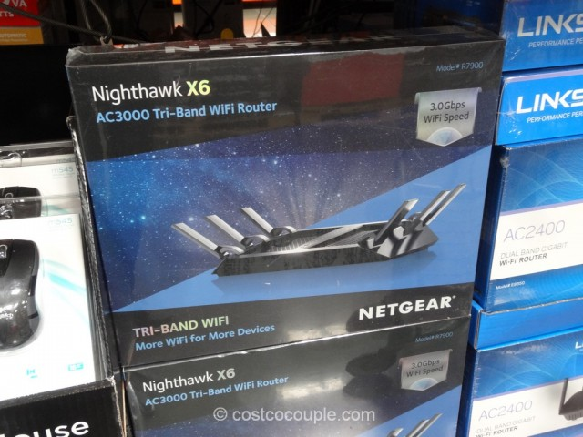 Netgear Nighthawk X6 AC3000 Wifi Router Costco 2