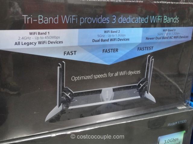 Netgear Nighthawk X6 AC3000 Wifi Router Costco 7