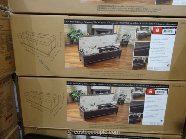 Noble House Vancouver Storage Ottoman Costco 6