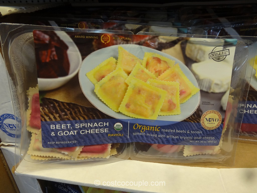 Nuovo Organic Beet Spinach and Goat Cheese Ravioli Costco 2