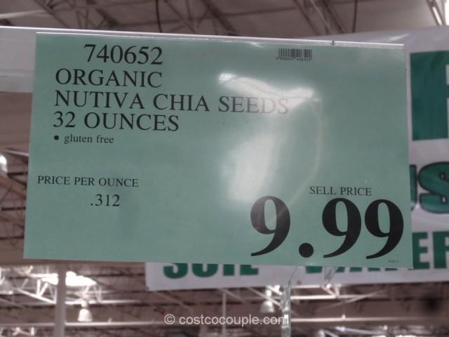 Nutiva Organic Chia Seed Costco 1