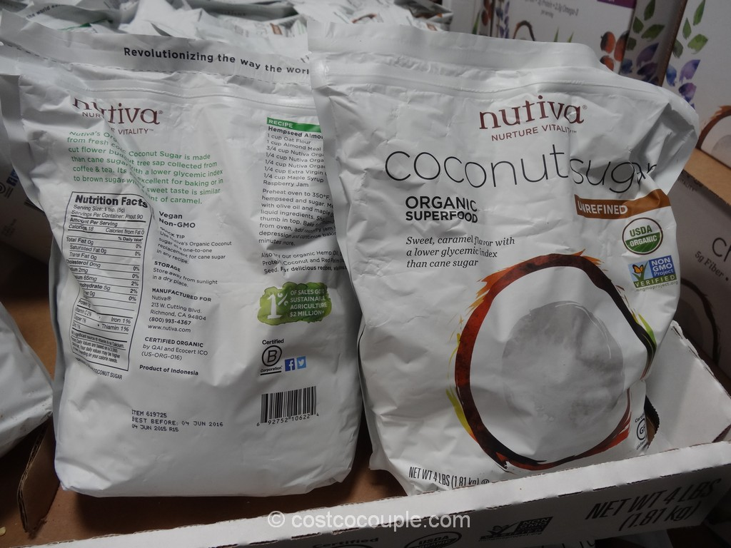 Nutiva Organic Coconut Sugar Costco 2