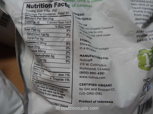 Nutiva Organic Coconut Sugar Costco 3