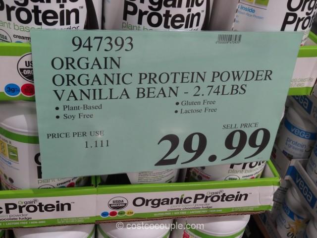 Orgain Organic Protein Powder Vanilla Bean Costco 1