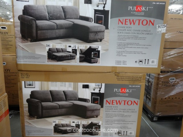 Pulaski Newton Convertible Sofa Costco 3