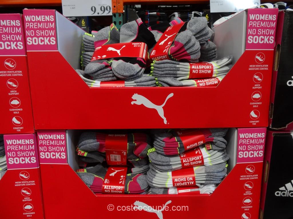 Puma Ladies No Show Socks Costco 2