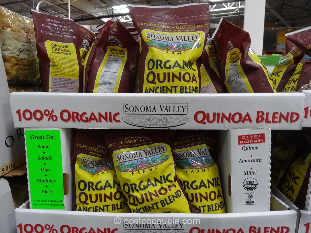 Sonoma Valley Farms Organic Quinoa Blend Costco 2