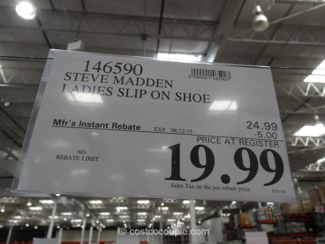 ... Steve Madden Ladies Slip On Shoes Costco 1