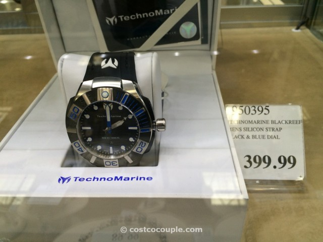 TechnoMarine Blackreef Silicone Strap Mens Watch Costco 2