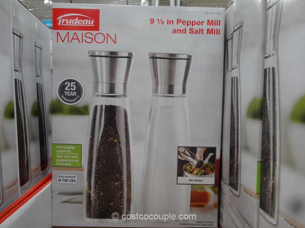 Trudeau Salt and Pepper Mill Costco 2