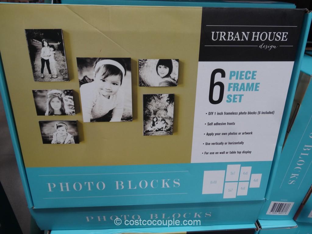 Urban House Designs Photo Block Frame Set Costco 2