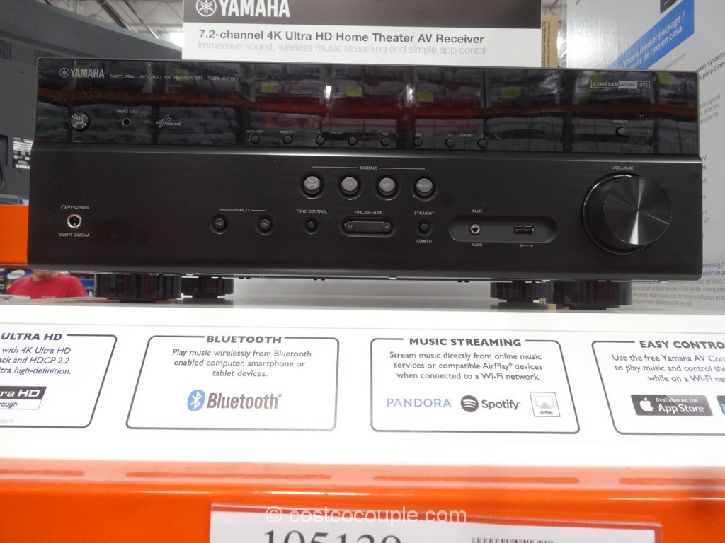 Yamaha TSR-5790 Receiver Costco 5