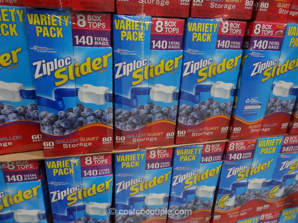 Ziploc EZ Zipper Mixed Pack Costco 2