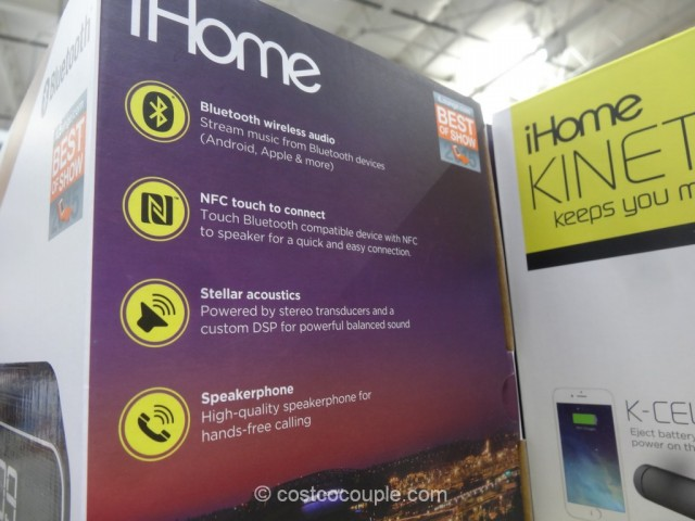 iHome Kineta Bluetooth Alarm Clock Costco 7