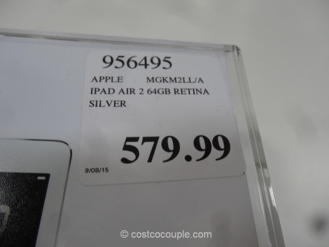 iPad Air 2 64 GB Costco 1