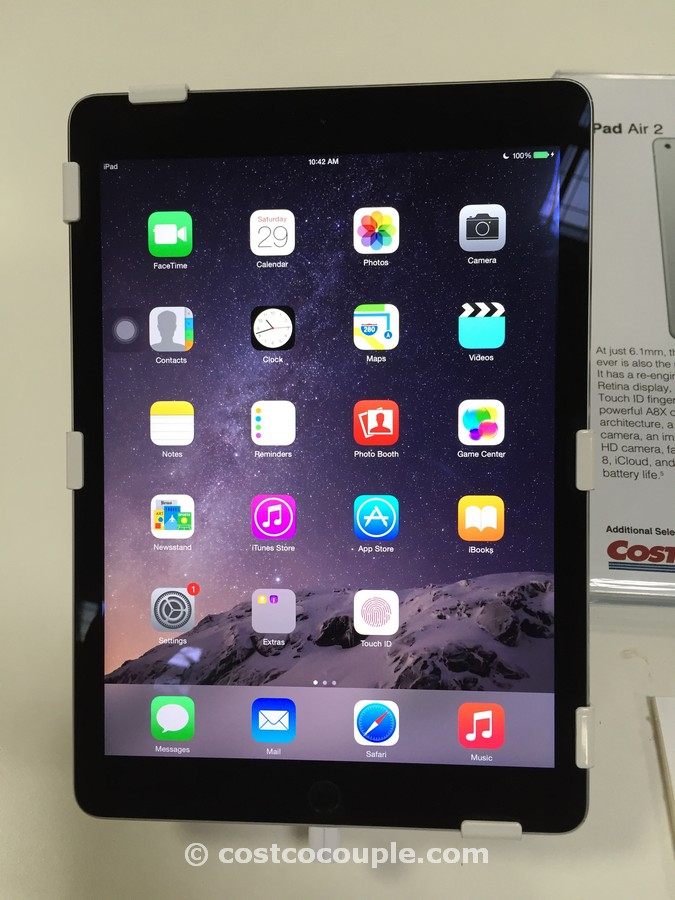 iPad Air 2 64BG Costco 2