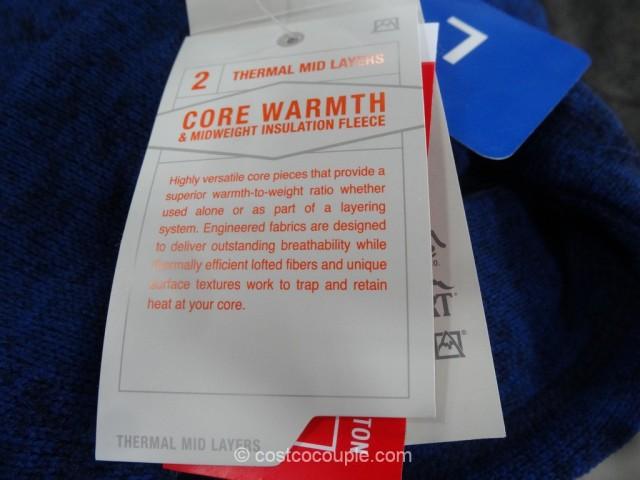 Avalanche Mens Full Zip Fleece Jacket Costco 5