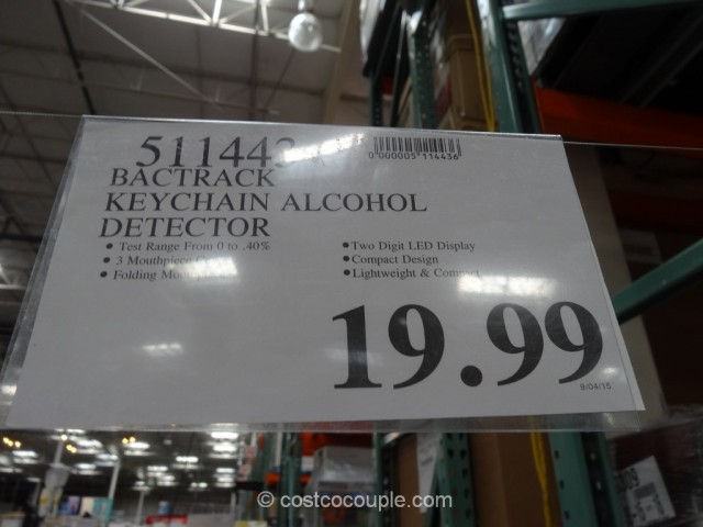 Bactrack Keychain Alcohol Detector Costco 1