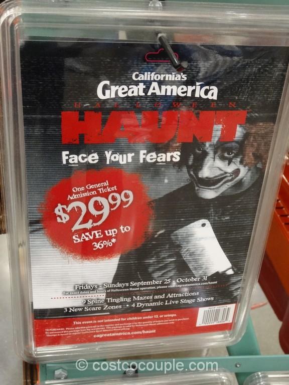 CA Great America Halloween Haunt Costco 1