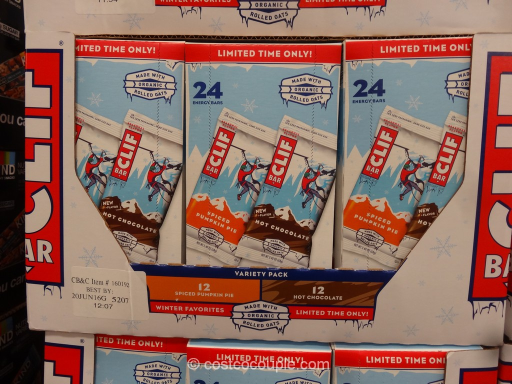 Clif Bar Seasonal Variety Pack Costco 2