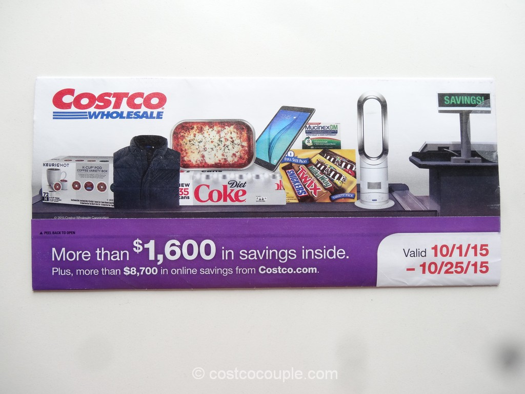 Costco Oct 2015 Coupon Book 1