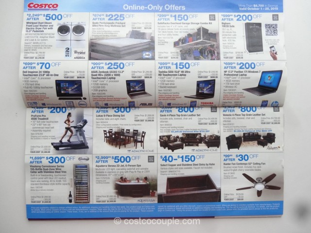 Costco Oct 2015 Coupon Book 10
