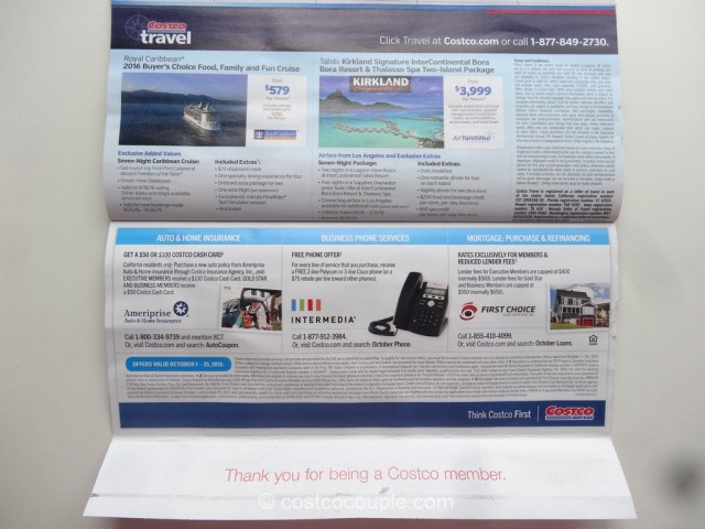 Costco Oct 2015 Coupon Book 13