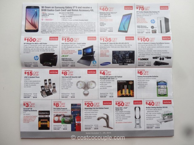 Costco Oct 2015 Coupon Book 3