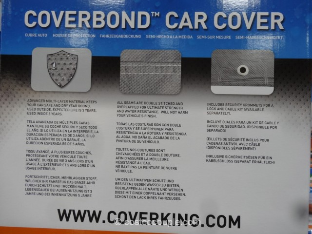 CoverKing Universal Car Cover Costco 7