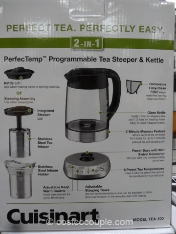 Cuisinart Tea Steeper Costco 3