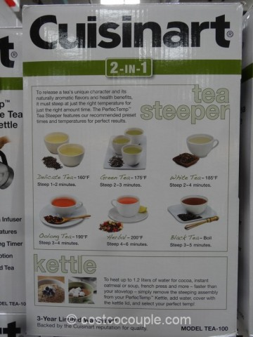 Cuisinart Tea Steeper Costco 4