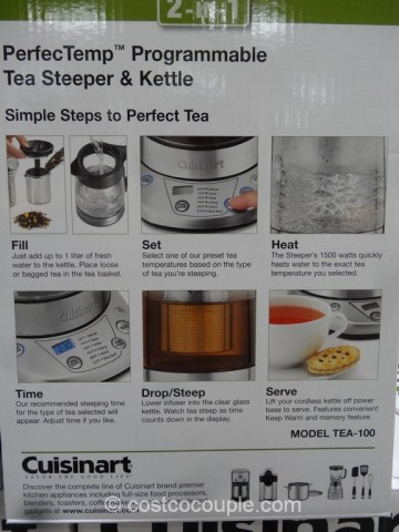 Cuisinart Tea Steeper Costco 5