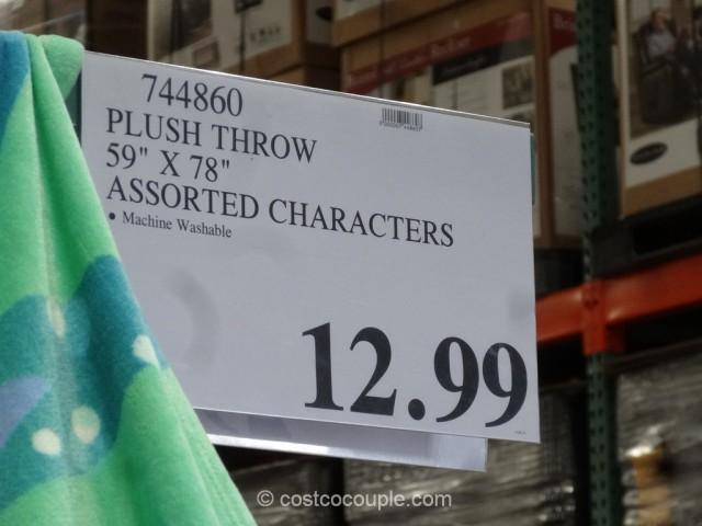 Disney Plush Throw Costco 1