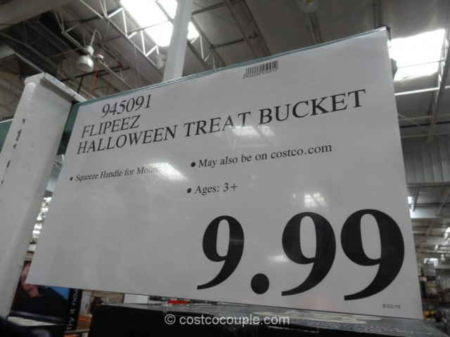 Flipeez Halloween Treat Bucket Costco 1