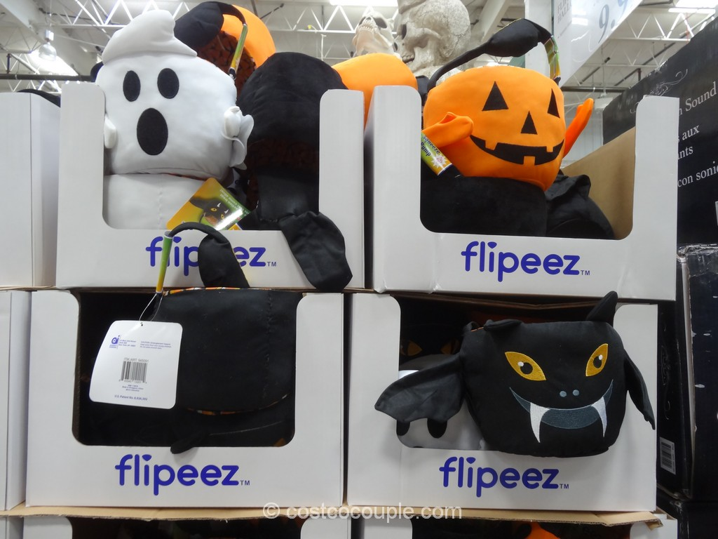 Flipeez Halloween Treat Bucket Costco 2