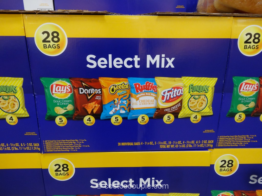 Frito Lay Select Mix Variety Pack Costco 2