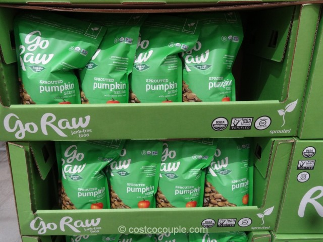 Go Raw Organic Sprouted Pumpkin Seeds Costco 2
