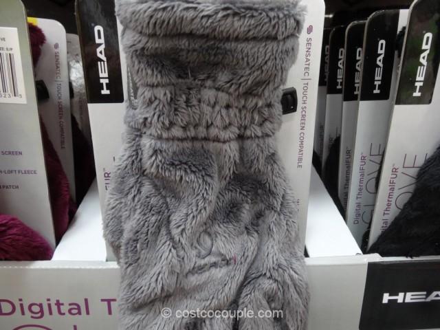 Head Ladies Digital Thermalfur Gloves Costco 3