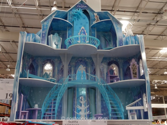 KidKraft Disney Frozen Snowflake Mansion Costco 2