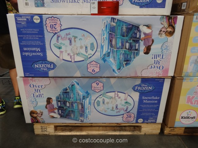 KidKraft Disney Frozen Snowflake Mansion Costco 3