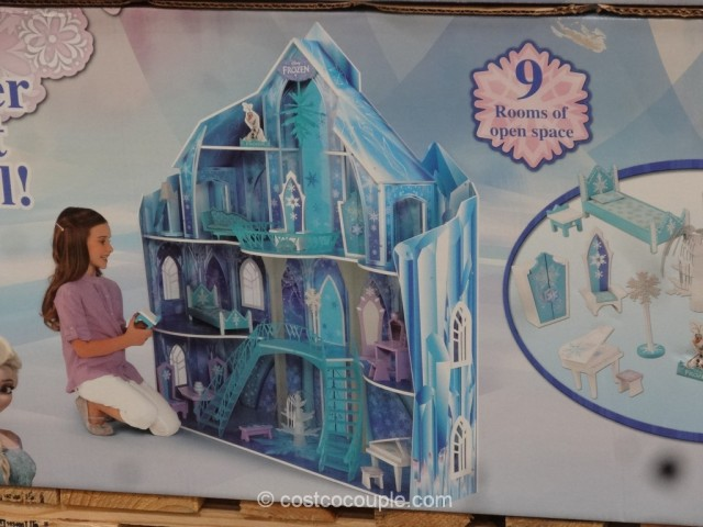KidKraft Disney Frozen Snowflake Mansion Costco 4