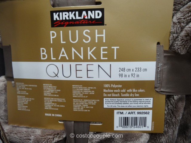 Kirkland Signature Queen Blanket
